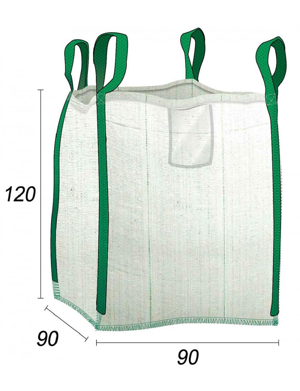 Big Bag - Sac jardin Renforcé Multi-Usage - 90X90X120