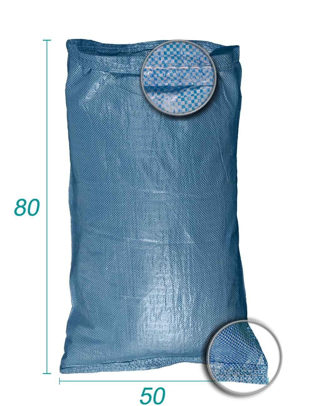 Sac vrac en Polypropylène Bleu 50X80
