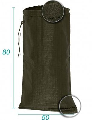 Sac vrac en Polypropylène Vert 50X80