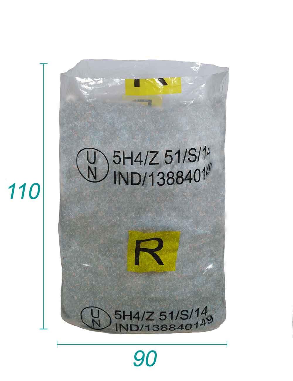 Sacs PE Plastique Réutilisable UN ADR pour Produit dangereux
