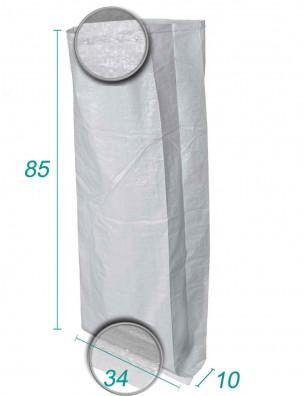 Sacs Tissé Polypropylène avec soufflet 34X85 X10