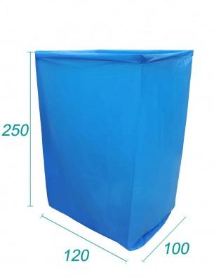 Housse PE Opaque  Pour Big Bag | Dim 100X120X250 - 70 microns
