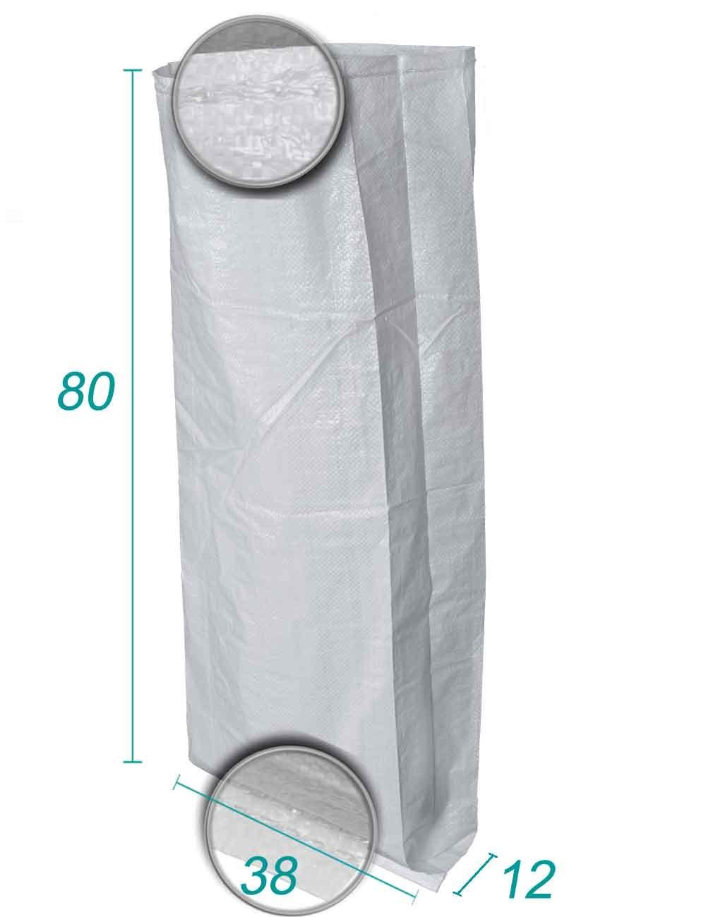 Sac vrac Polypropylène avec soufflet 38X80 X12