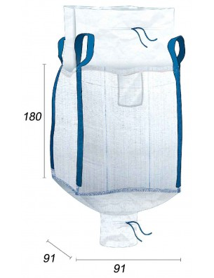 Big Bag Compatible Aliments & Nutriments - 91X91X180