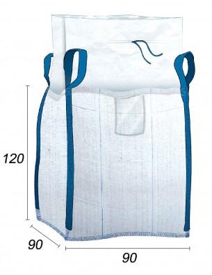Big Bag 1250 kg matériaux de construction - 90X90X120