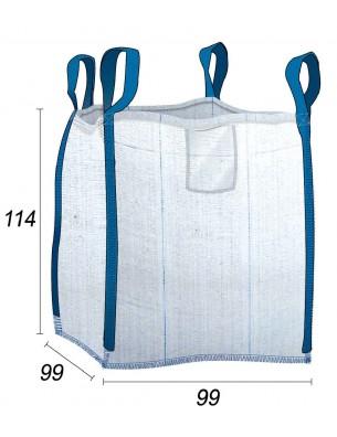 Big Bag Ventilé Plaquette Ecorce & Sciure Humide
