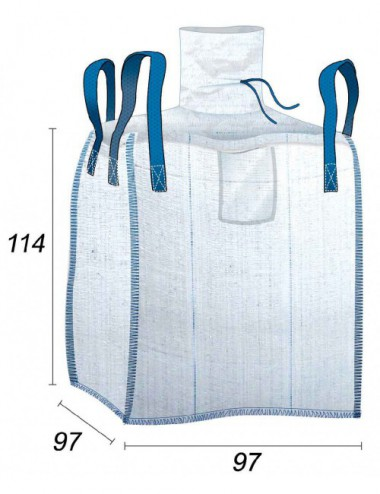 Big Bag Contact Alimentaire & Hermétique