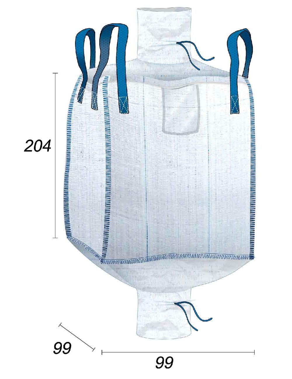 Big Bag Sciures & Pellets à conserver au Sec