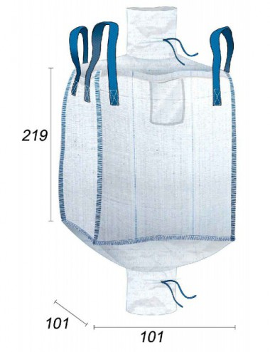 Big Bag 2m3 Grande Contenance