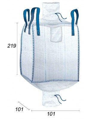 Big Bag 2m3 Grande Contenance - 97X97X215