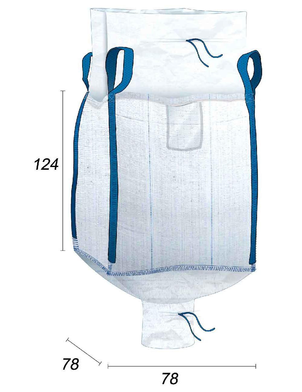 Big Bag Doublure interne en sache PE