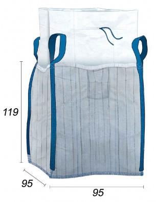 Big Bag Ventilé avec bandes d'aération 4 côtés