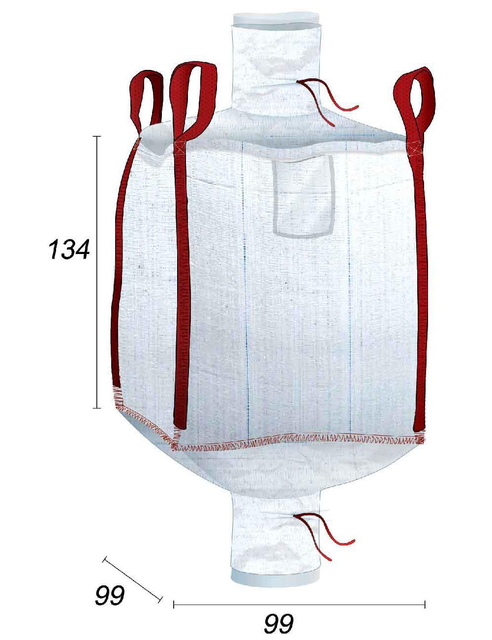 Big Bag Doublé à l'intérieur avec une sache 70µ