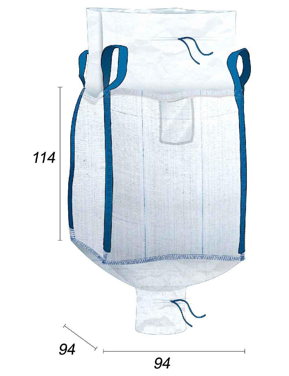 Big Bag Jupe Fermeture & Goulotte Vidange