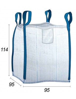 Big Bag Filtration des boues classiques - 91X91X110