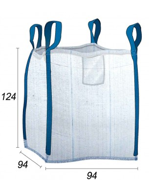 Big Bag 1m3 gravats Déconstruction & Démolition