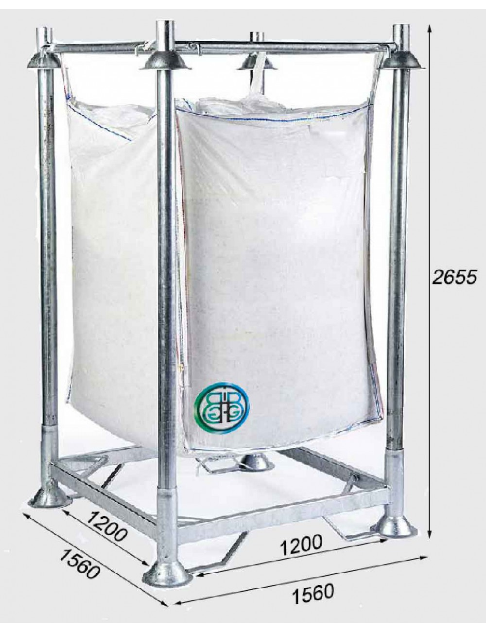 Armature support Renforcée pour Big Bag Hauteur 265