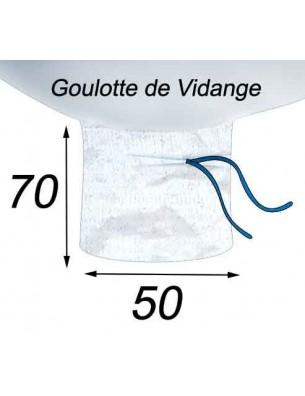 Big Bag Etanche Farines & denrées Alimentaires Goulotte de Vidange 50x70