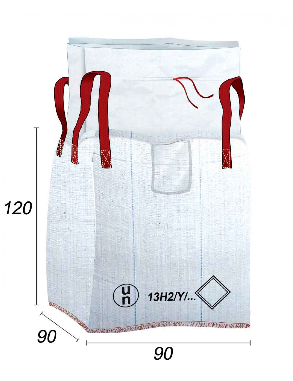 Big Bag 13H2Y Transport Produits réglementés UN