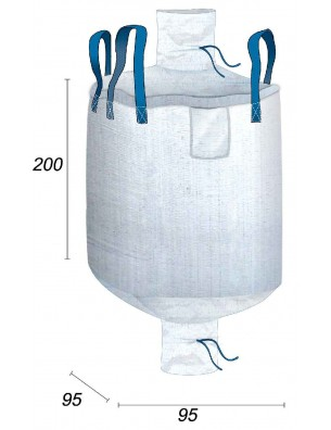 Big Bag Stockage Marchandises Volumineuses