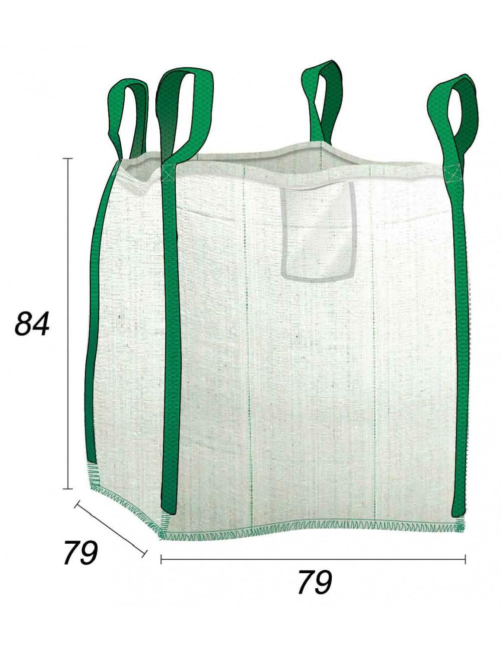 Sacs pour Déchet Verts 450L Idéal Particuliers - 75X75X80